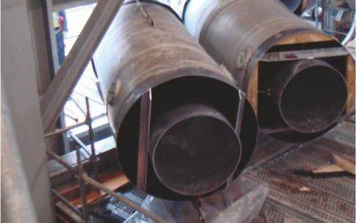 Estructuras fabricadas mediante calderería pesada