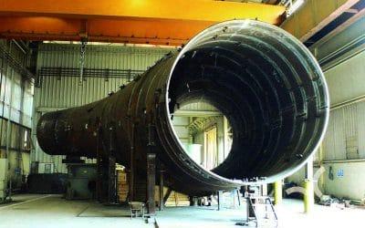 ¿Cómo interviene el taller de mecanizado en la fabricación de tanques industriales?