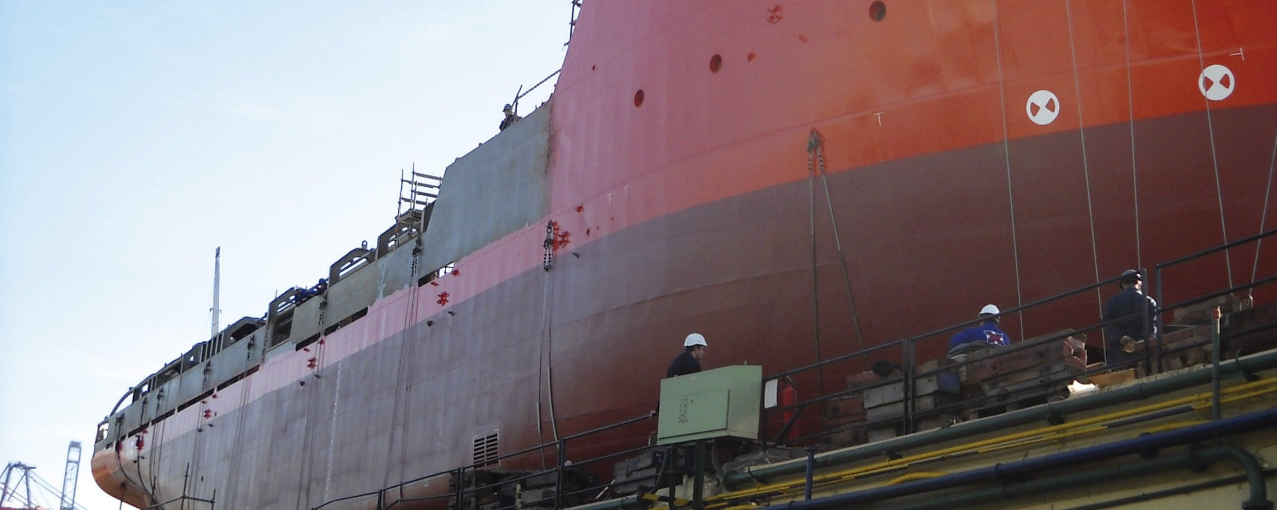 calderería naval
