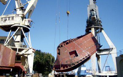 Calderería marítima. Ventajas y características