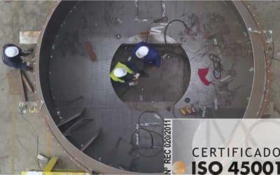 Certificación ISO 45001 | Soldaval es seguridad.
