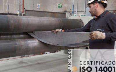 Certificación ISO 14001 | Por la gestión ambiental.